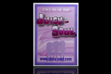"""JUICY SOUL"" SIGN BOARD"